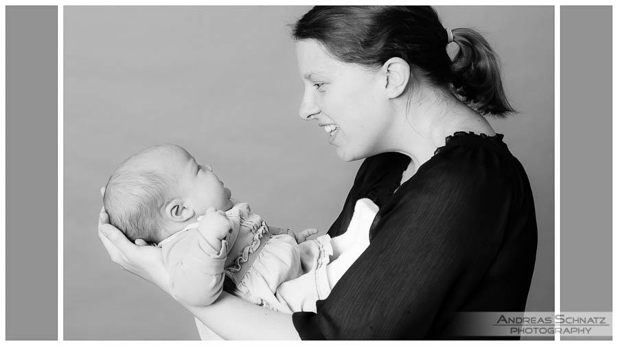 Fotosession für Babybilder