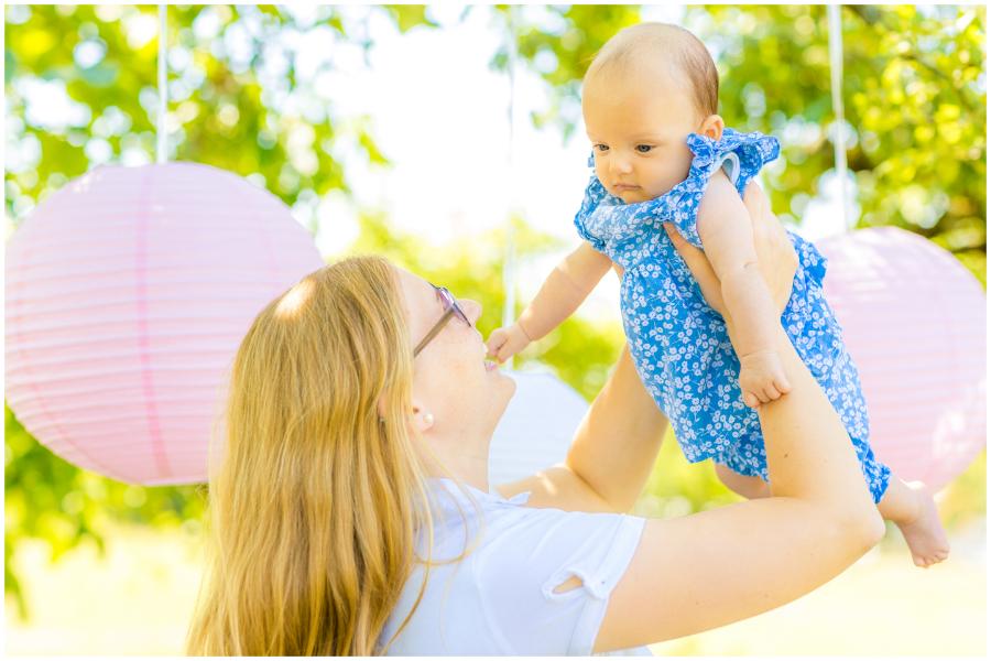 Babybauchbilder Streuobstwiese