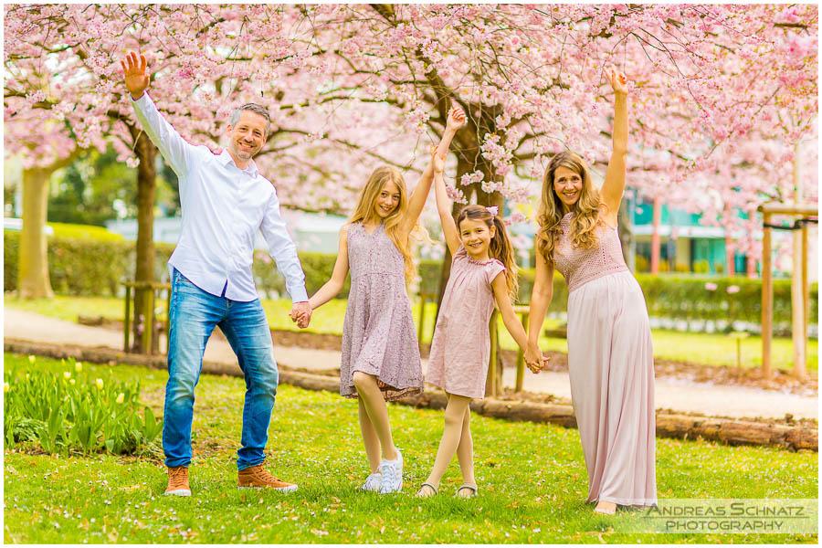Kirschblützen Familienshooting